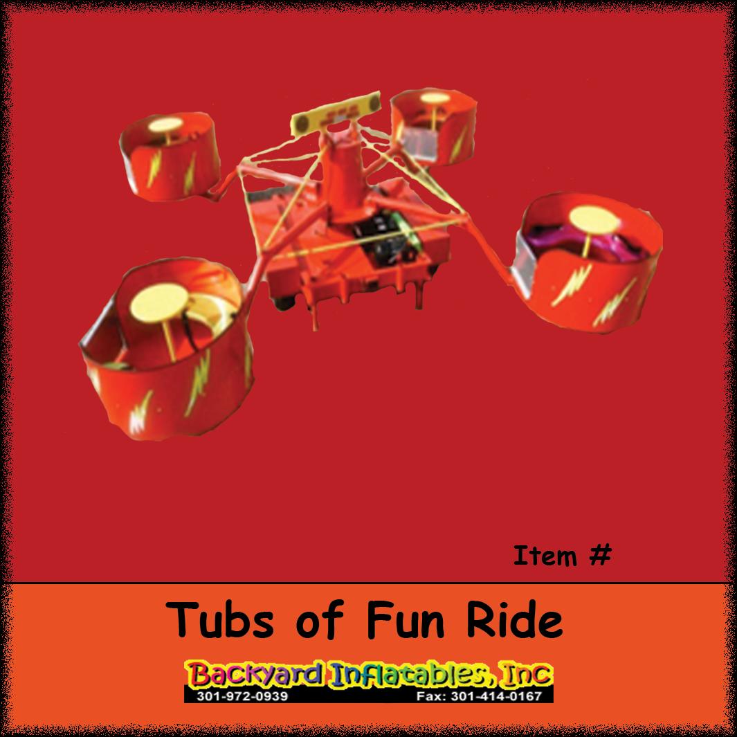Carnival Ride Rentals-Tubs Of Fun