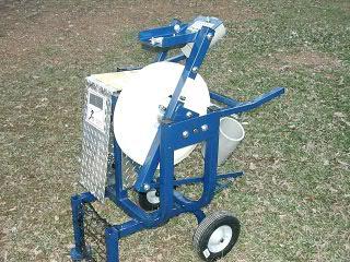 gas powered pitching machine