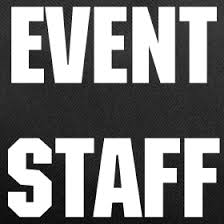 Staff for event