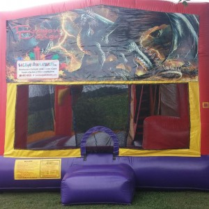 Dragon Moon Bounce with slide