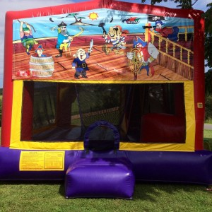 Pirate Moon Bounce with slide