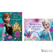 frozen thank you cards 2