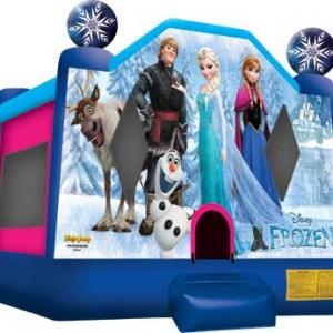 frozen moon bounce