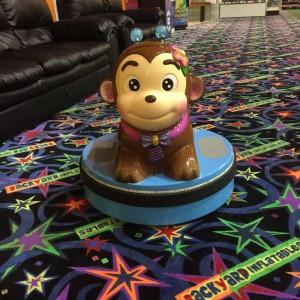 Monkey kiddie ride