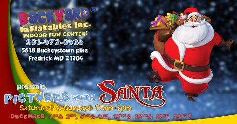 Pictures w/ Santa!